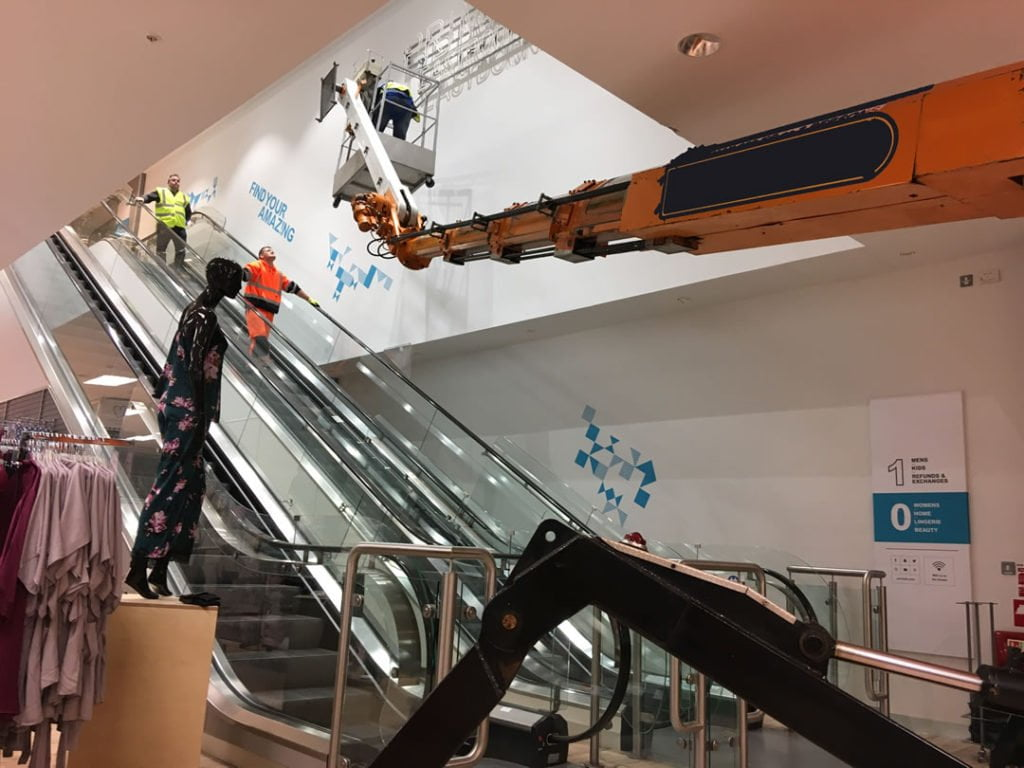 Tracked Spider Access Primark